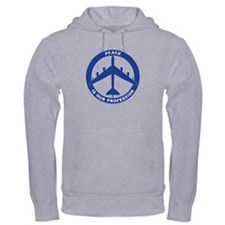 B-52H Peace Sign Hoodie