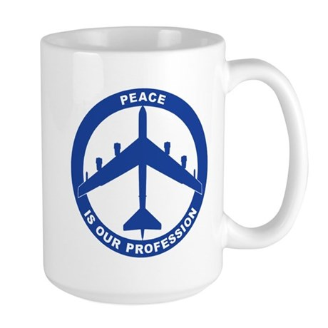 B-52H Peace Sign Large Mug