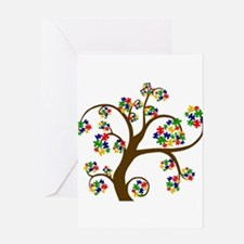Cute Kids autism Greeting Card