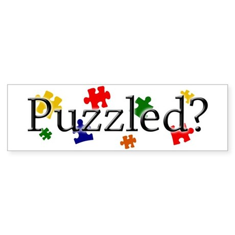 Autism Puzzled 50pk Bumper Sticker
