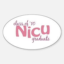 NICU Graduate 2010 Decal
