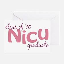 NICU Graduate 2010 Greeting Card