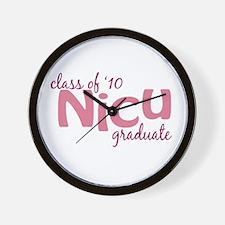 NICU Graduate 2010 Wall Clock