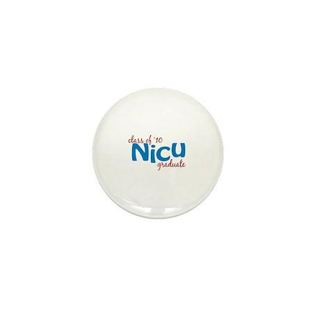 NICU Graduate 2010 (blue) Mini Button