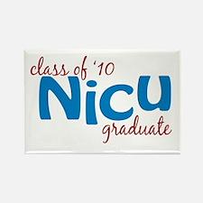 NICU Graduate 2010 (blue) Rectangle Magnet