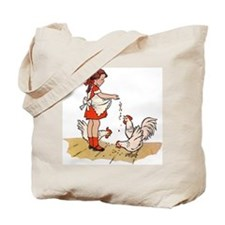 'Chicken Feed' Tote Bag
