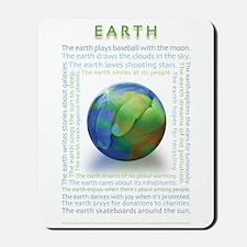 Earth Personification Mousepad