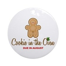 Due August Cookies Ornament (Round)