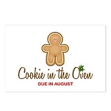 Due August Cookies Postcards (Package of 8)