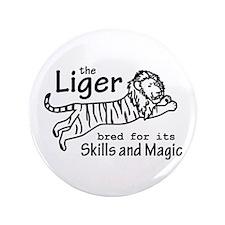 "Liger - Napoleon 3.5"" Button"