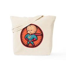 Future Hero Baby Tote Bag