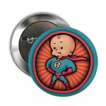 "Future Hero Baby 2.25"" Button (10 pack)"
