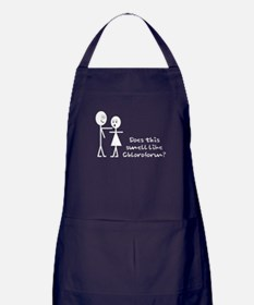 Funny Bad Pick-up Lines Apron (dark)