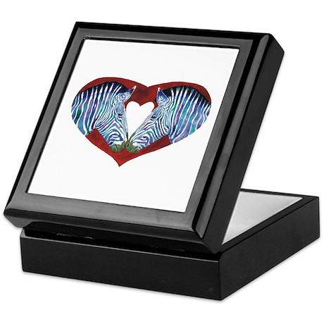 Love is Not Black & White Keepsake Box