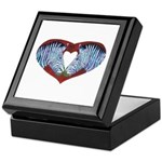 Love is Not Black & White Keepsake Box