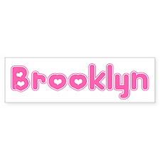 """""""Brooklyn"""" Bumper Bumper Sticker"""