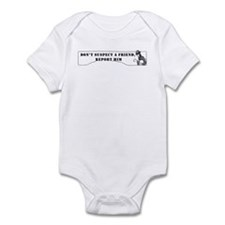 Suspect a Friend Infant Bodysuit