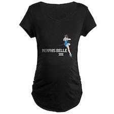 Memphis Belle III Maternity T-Shirt (Dark)