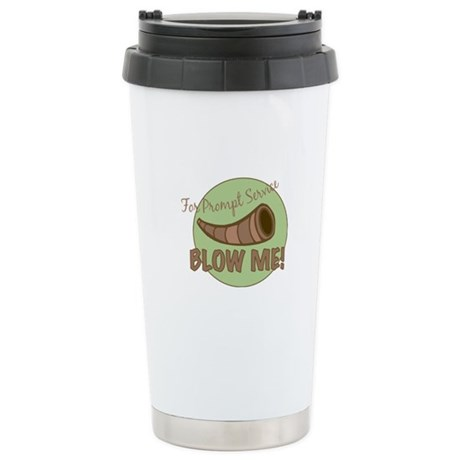 Prompt Service Stainless Steel Travel Mug