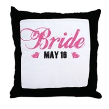 Cute Bride 2010 Throw Pillow