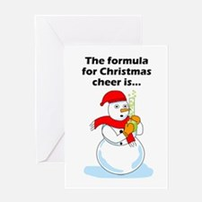 Chemistry Christmas Greeting Card