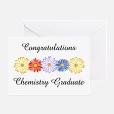 Chemistry Graduate (Blank) Greeting Card