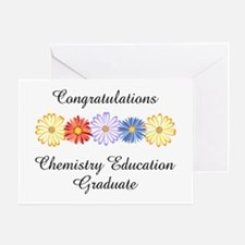 Chemistry Education Graduate (Blank) Greeting Card