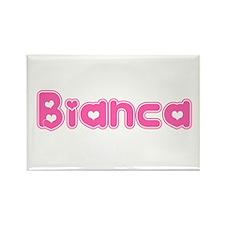 """Bianca"" Rectangle Magnet"