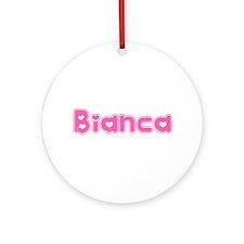 """Bianca"" Ornament (Round)"