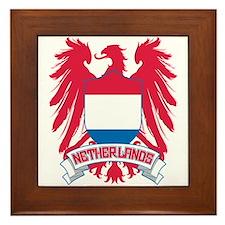 Netherlands Winged Framed Tile