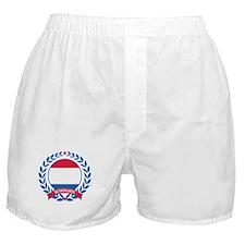 Netherlands Wreath Boxer Shorts