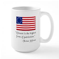 Dissent Thomas Jefferson Mug