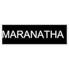 Maranatha (Come Lord Jesus) vinyl bumper sticker