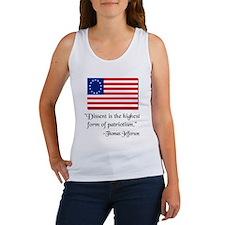 Dissent Thomas Jefferson Women's Tank Top