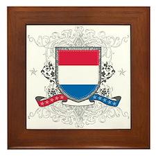 Netherlands Shield Framed Tile