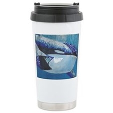 Whales- God's Creatures Travel Mug