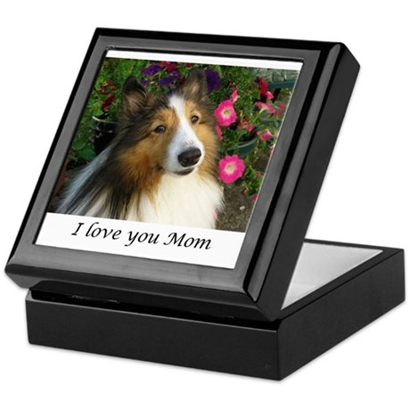 I love you Mom Keepsake Box
