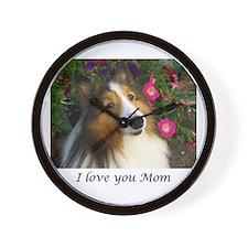I love you Mom Wall Clock