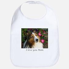 I love you Mom Bib