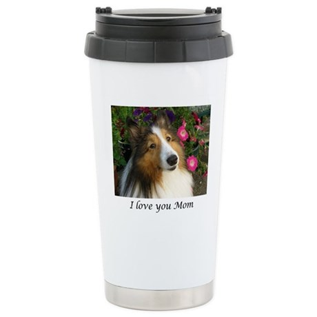 I love you Mom Stainless Steel Travel Mug
