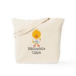 Bibliophile Chick Tote Bag