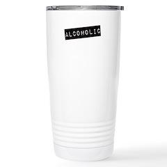 Acoholic Stainless Steel Travel Mug