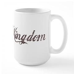 Vintage UK Large Mug