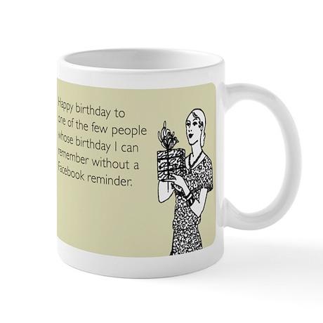 Without Facebook Reminder Mug