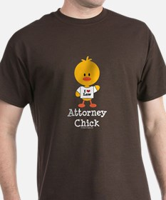 Attorney Chick Lawyer T-Shirt