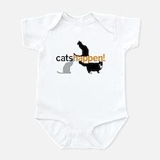 Cats Happen! Infant Bodysuit