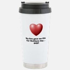 WTF! from Son Stainless Steel Travel Mug