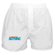 Office Understand Nothing Boxer Shorts