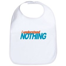 Office Understand Nothing Bib