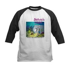 Poodle: The Other White Meat Kids Baseball Jersey